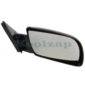 Chevy C k Pickup Truck Blazer Full Size Rear View Mirror Manual Black Right Side