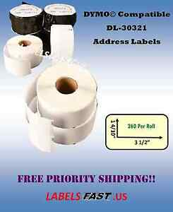 30321 Dymo Labelwriter Compatible Large Address Labels Lowest Prices On Ebay