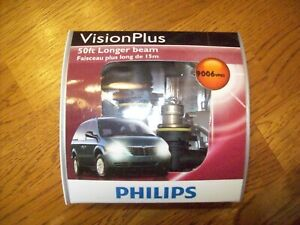 2 Ea Philips Genuine 9006 Vpb2 Upgrade Visionplus Made In Germany F S