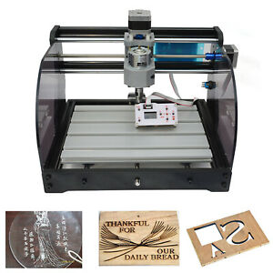 3 Axis Cnc Router Kit 3018 Woodworking Usb Port Injection Molding Material Er11