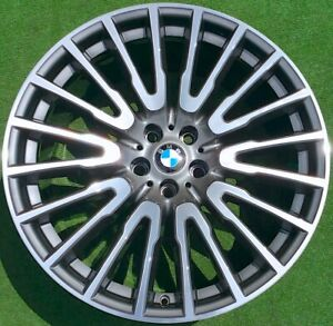 Factory Bmw 21 Inch Wheels Oem 745i 750i Perfect 629 Individual For F01 7 Series