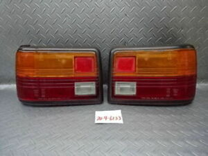 Genuine Toyota Kp61 Starlet Late Hatchback Tail Lamp Light Left And Right Set