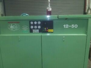 Sullair 50 Hp Air Compressor 12 50h w sul Used Low Hours 15204