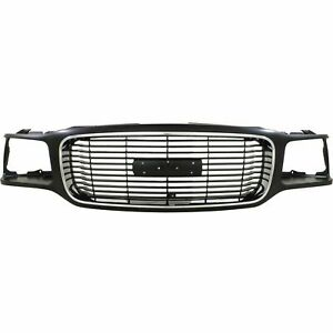 New Front Grille For 1999 2000 Gmc Yukon Denali Gm1200447 Ships Today