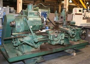 15 Chk 3 Hole Warner Swasey 2a Turret Lathe 3 jaw Toolpost 7 5 Hp 3 3 4