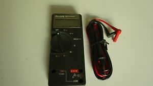 Fluke 73 Multimeter Calibrated With Test Leads