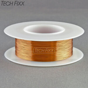 Magnet Wire 36 Gauge Awg Enameled Copper 1550 Feet Coil Winding Essex 200c