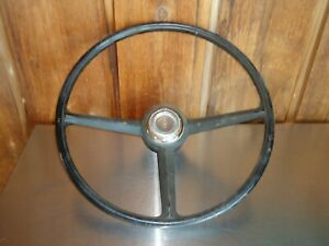 Factory Oem Gm Steering Wheel W Center Horn Button 1968 Oldsmobile Cutlass F85