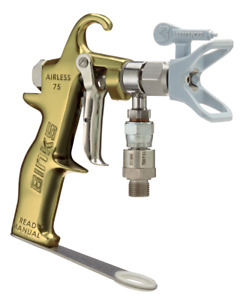 Nwt 550 Binks Airless 75 Spray Gun With High Pressure Swivel