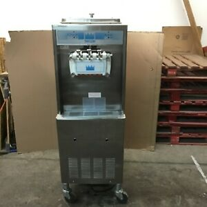 2003 Taylor 336 Soft Serve Frozen Yogurt Ice Cream Machine Warranty 1ph Air