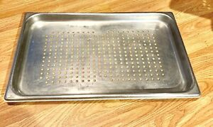 Vollrath 30013 Stainless Steel Perforated Steam Table Pan