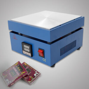 110v 850w Led Preheating Station Electronic Hot Plate Welding Soldering Preheate