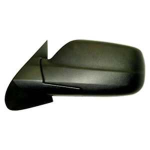 2005 2008 For Jeep Grand Cherokee Driver Side Mirror Power Black Textured
