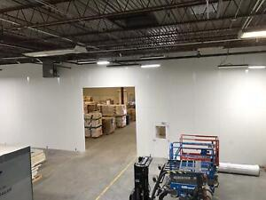 89 X 79 2 Class A Interior Warehouse Walls In plant Office