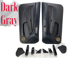 1998 Honda Civic Ex Coupe Door Panel Powered Gray 1996 2000 Hx Si Em1 Hatchback