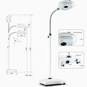 36w Mobile Surgical Medical Exam Light Kd 2012d 3 Shadowless Lamp With 12 Led