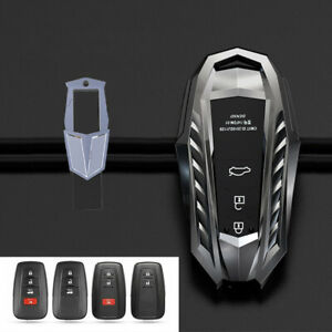 For Toyota Chr 2017 2018 Prius Camry Rav4 Zinc Alloy Car Remote Key Cover Case