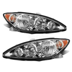 1 Set Left Right Headlights Headlamps For Toyota Camry Le Xle Se 2005 2006