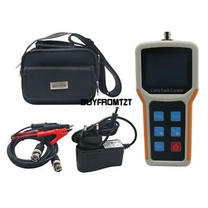Handheld S 600am Tdr Cable Fault Locator 2km Fast Tester Speed Accurate Test Tzt