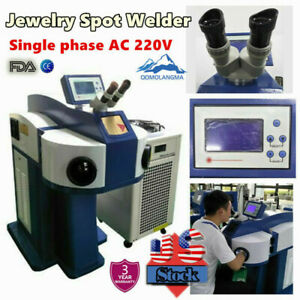 Us Stock Laser Spot Welding Machine Jewelry Spot Welder Laser Spot Welder Fda Ce
