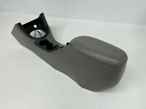 1999 2004 Oem Ford Mustang Center Console With Armrest And Storage Grey S8725