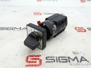Moeller Tm 2 8550 Rotary Disconnect Switch