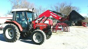 2004 Massey Ferguson 471 Loader 4x4 2627 Hrs free 1000 Mile Delivery From Ky