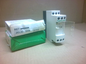 Schneider Electric Zelio Time Re7tm11bu On Delay Timer Relay 0 05s 300h New