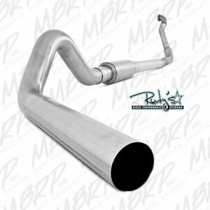 Mbrp 4 Tb Exhaust No Muffler For 1999 2003 Ford 7 3l Powerstroke Diesel