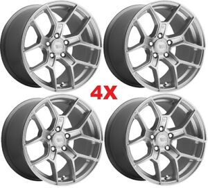 18 Silver Alloy Wheels Rims Mags Compass Renegade Cherokee