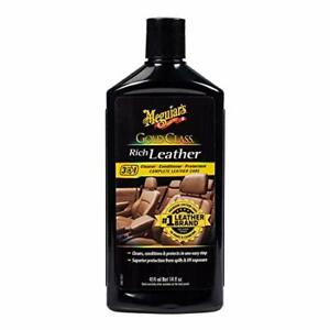 Meguiar s Gold Class Rich Leather Lotion Cleans Conditions Protects For