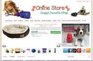 Dog Items Affiliate Store Website Free Installation Hosting