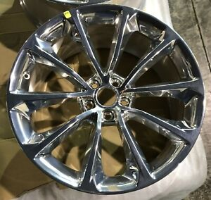 20 Chrysler 300 Srt 2015 2020 Brand New Factory Polished Oem Alloy Wheel Rim