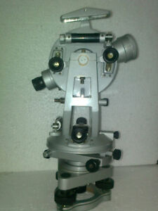 Vernier Transit Theodolite With Tripod Stand Watts Pattern By Dr onic