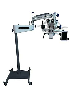 Tiltable Neurosurgical Operating Microscope 5 Step Magnification 110 240v