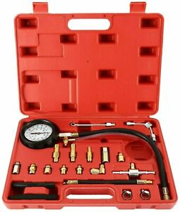 0 140psi Fuel Injection Pump Pressure Injector Tester Test Pressure Gauge Kit