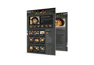 Video Recipes Wordpress Established Website Ll Profitable Ready