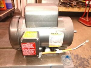 Baldor 1 5 Hp Single Phase Tefc Electric Motor