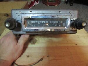 Vintage Motorola Volumatic Car Radio For Chevrolet