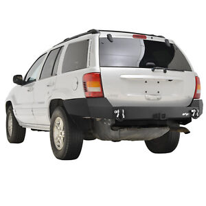 Eag Assembled Rear Bumper W 2 Hitch Receiver Fit 99 04 Jeep Grand Cherokee Wj