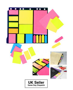 Assorted Index Note Memo Stickers Divider Flags Index Tabs Bookmark Post it