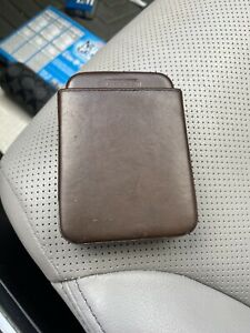 Coach Leather Card Holder Case Rare Vintage