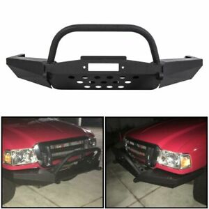 Modular Front Winch Bumper With Bull Bar For Ford Ranger 1998 2011