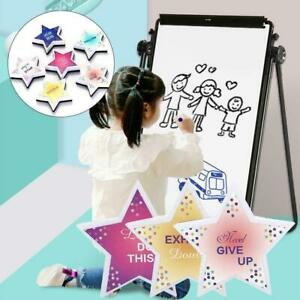 Five pointed Star Eraser Magnetic Whiteboard Wipe Blackboard Hot Cleaner A2m5