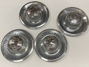 Set Of 4vintage Gm Oem Chevy Chevelle Corvette Rally Wheel Center Caps