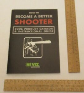 HOW TO BECOME A BETTER SHOOTER HiVIZ Shooting Systems paperback BOOKLET $6.12