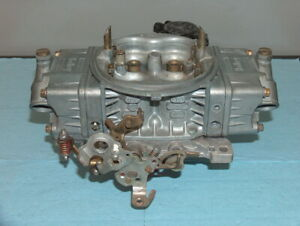 Holley 750 Hp Series Vacuum Sec 4 Barrel Carburetor 80528 2 Carb W Adj Bleeds