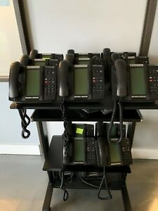 Mitel Mivoice 250 Complete Digital Phone System Kit Controller W 45 Phones
