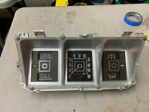 76 79 1976 1979 Ford Truck 78 79 Bronco Speedometer Instrument Cluster 100 Mph 2