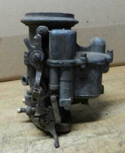 1948 52 Ford Vehicles Used 2 Bbl Holley Model 94 Carburetor 8ba For Parts